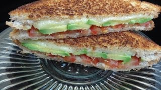 Avocado Tomato Grilled Cheese Sandwich with Guest Star Tammy Yoyomax12