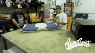 West Coast Customs - Removing Upholstery Wrinkles with Ish