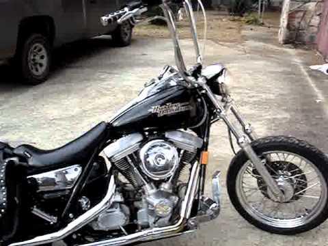1994 Harley Davidson FXR - YouTube