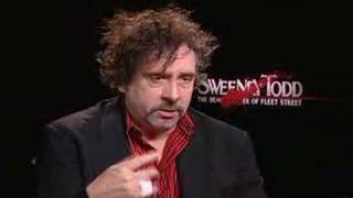 Tim Burton Interview For Sweeney Todd
