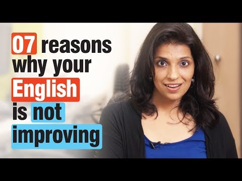 07 Reasons - Why Your English Speaking Isn't Improving - Spoken English Tips video