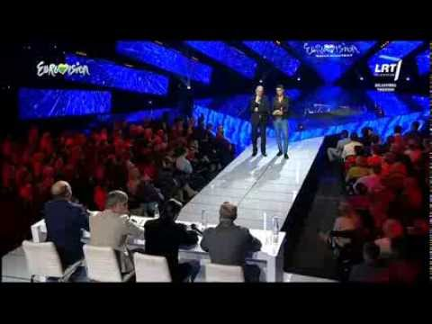 M. Kavaliauskas take A Look At Me Now  Lithuania In The Eurovision Song Contest video