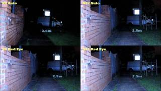 Nokia N8 v N82 xenon Flash strength comparison
