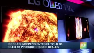 Con Led independientes el Tv Lg b6 Oled 4k produce negros reales