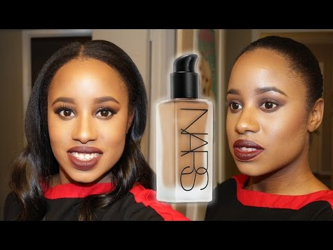 New Nars All Day Luminous Foundation Review (Demo, Pictures, 2 Colors, Swatches, 12 hr Wear)