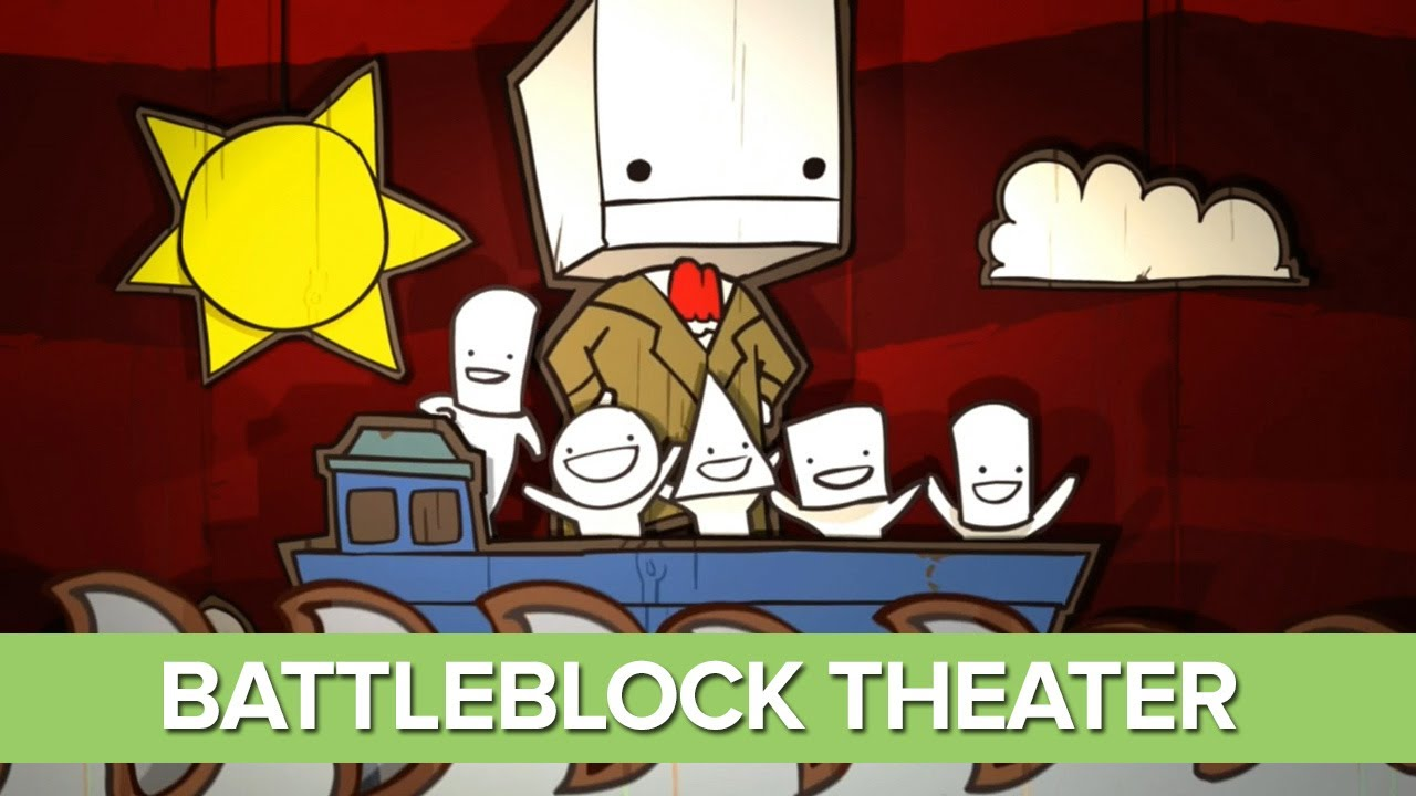 BattleBlock Theater Opening Cinematic - Funny Intro ...