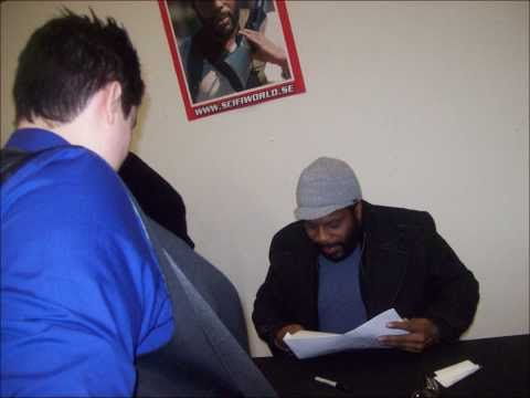 Meeting Chad Coleman (Tyreese-The Walking Dead)!