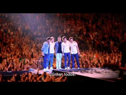 ONE DIRECTION THIS IS US ( la película) Trailer Oficial Subtitulado español