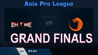 TNC vs EHOME - Grand Finals (BO5) | Dota 2 Asia Pro League 2018