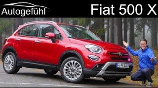 2019 Fiat 500X Facelift FULL REVIEW - Autogefühl