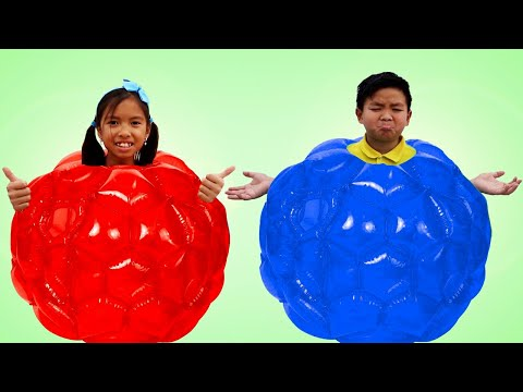 Wendy and Alex Pretend Play Kids Sports and Games Competition Challenge