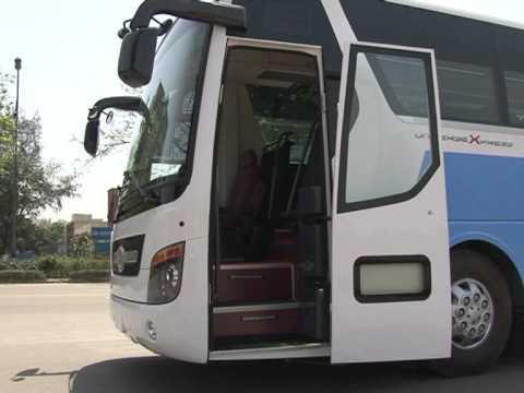 Hyundai Bus Body Fabrication By Hns Heavy Industries Ltd