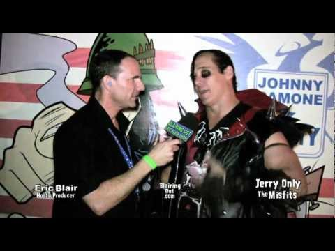 The Misfits Jerry Only talks w Eric Blair about Johnny Ramone,&The Mistfits