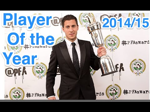 Eden Hazard - PFA Player Of The Year 2014/15 - Goals and Assists - HD