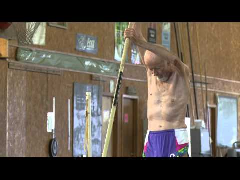 The 90-Year-Old World Record Holder in Pole Vault | BBC News