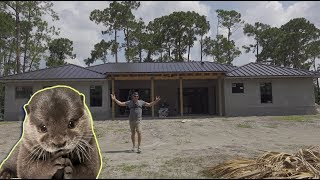 Building Our DREAM HOME Ft. Kia the CUTE baby OTTER!!!!