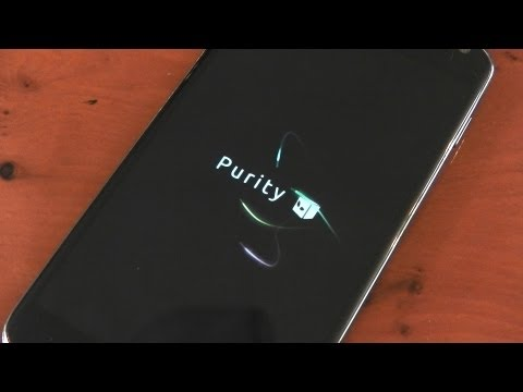Nexus 4 - PURITY -  Custom Rom Review