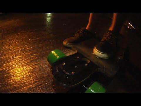 Krasse Regenfahrt Durch Die Nacht!   Longboard Tour Tag 18   Dner video