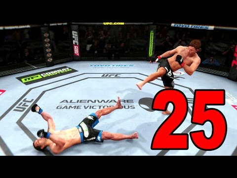 UFC 14 Career Mode - Part 25 - Out Cold (EA Sports UFC 2014 Gameplay)