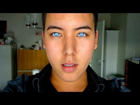 REVIEW: BEAUTIFUL blue green aqua contacts on brown eyes