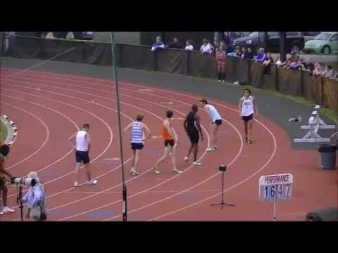 Robby Andrews 2012 Debut (M 800 H01 - 1:49.08) 2012 George Mason Invitational)