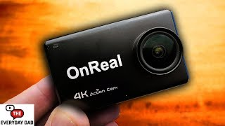 The first USEFUL GoPro Clone?  The OnReal 4K Action Camera!