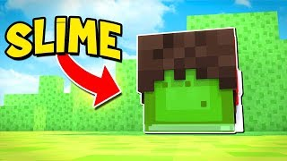 DISFARCE DE SLIME no MINECRAFT !!!