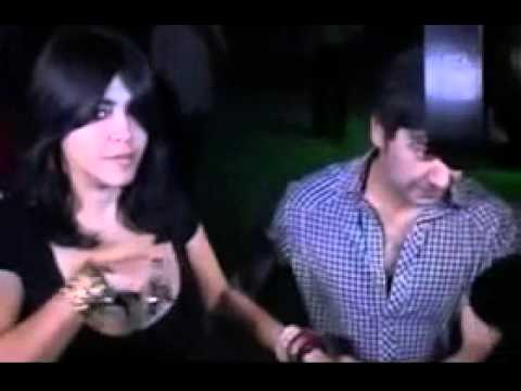 Ekta Kapoor Deep Neck Dress Oops!!! video