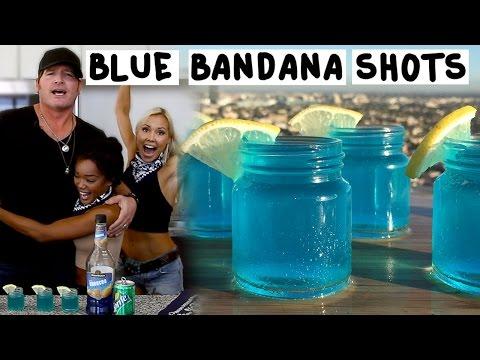 Blue Bandana Shots with Jerrod Niemann - Tipsy Bartender