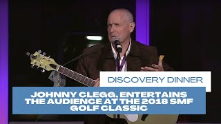 Johnny Clegg Entertains The Audience At The 2018 Smf Golf Classic