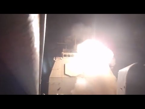 US warship fires Tomahawk Land Attack missiles at ISIL in Syria