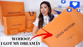 I Spent All My Money At Louis 😂 | Massive Louis Vuitton Unboxing