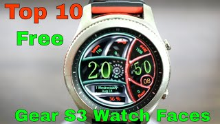 Top 10 Gear S3/Gear Sport Free Analog/Digital/Animated Watch Faces