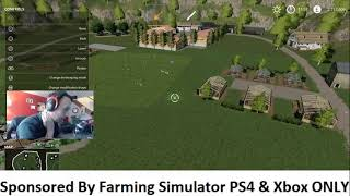 Sponsored Stream! Lets Build Us A Farm! Farming Simulator 19 PS4 Pro