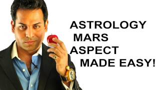 Astrology lesson 5_ Astrology aspects made easy (What are astrology aspects) MARS