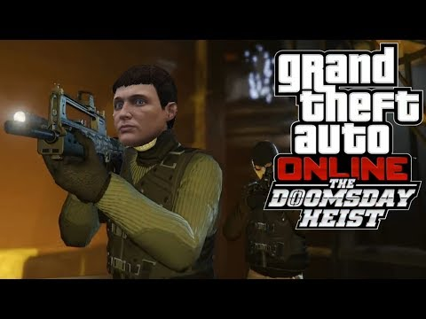 My thoughts on the GTA Online Doomsday heist trailer