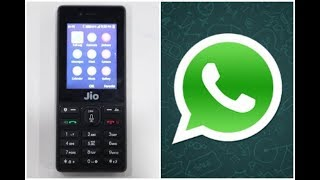 Whatsapp cant download in jio phone.