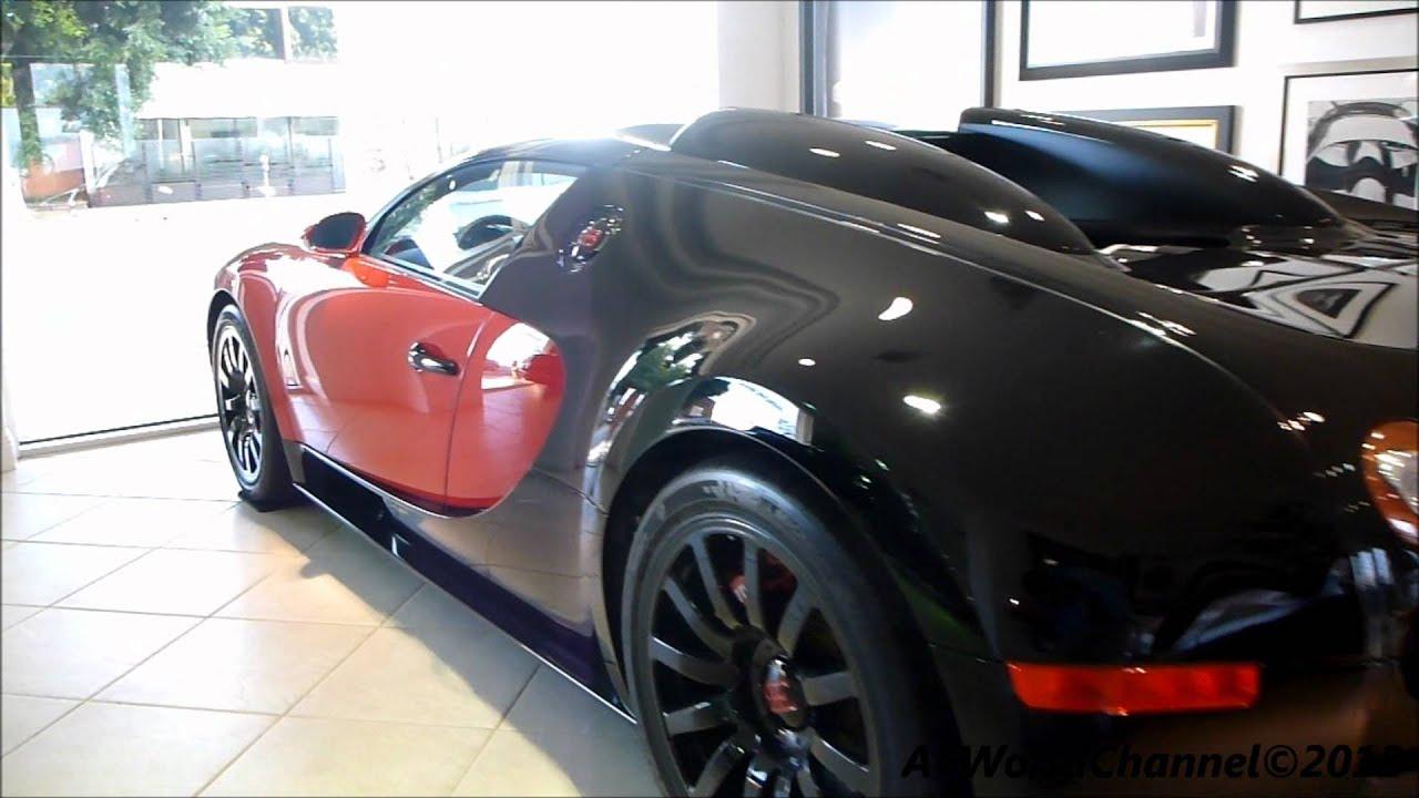 Bugatti Veyron 16 4 Red And Black With Tuned Black Rim