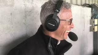 Keith Curle speaks to BBC Radio Northampton after the draw with Mansfield Town