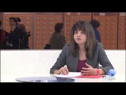 لقاء في اوروبا مع ماري كرستين عضو البرلمان الاوروبي