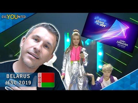 BELARUS: Liza Misnikova - Pepelny (Ashen) | Junior Eurovision 2019 - REACTION