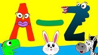 ABC Alphabet - A to Z Animals for Kids