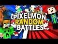 Minecraft POKEMON: Battle