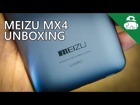 Meizu MX4 Unboxing and First Impressions
