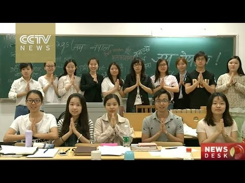 Chinese students raise 36,000 yuan for Nepal earthquake victims