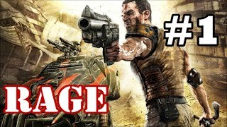 Rage - All Cutscenes & Dialogue (Part 1) - Project Eden & Hager Settlement