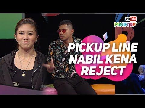 download lagu Pickup line Nabil kena reject dengan Elizabeth Tan | MeleTOP | Neelofa gratis