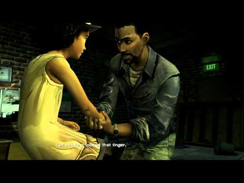Walking Dead Ep1 - Walkthrough w/commetnary - Father/Daughter Bonding - Part 6