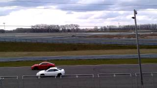 Fiat Coupe 20VT on Slovakia Ring