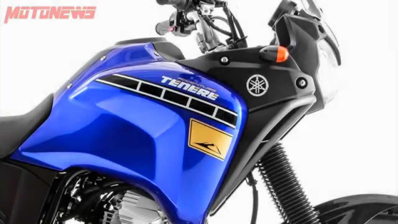 YAMAHA XTZ 250 TENERE 2015 - MOTONEWS - YouTube